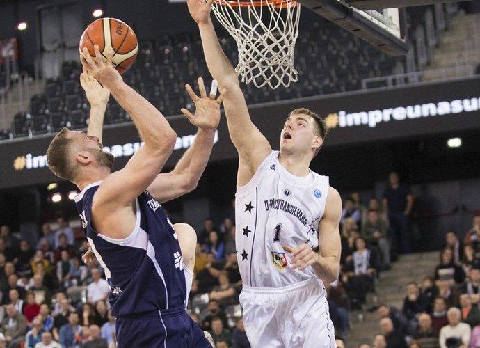 D.Tarolis išlaiko gerą tempą Rumunijoje (FIBA Europe nuotr.)
