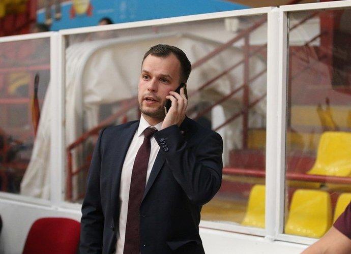 L.Grabauskas papasakojo apie kelionės organizavimą (FIBA nuotr.)