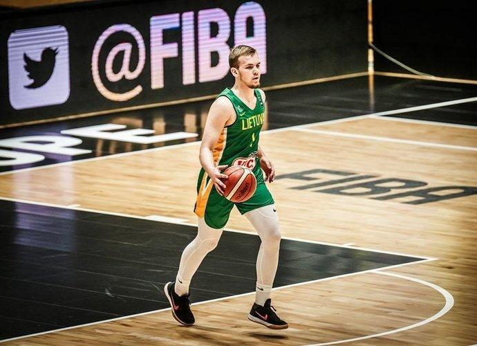 A.Velička ir vėl gali vadintis žalgiriečiu (FIBA Europe nuotr.)