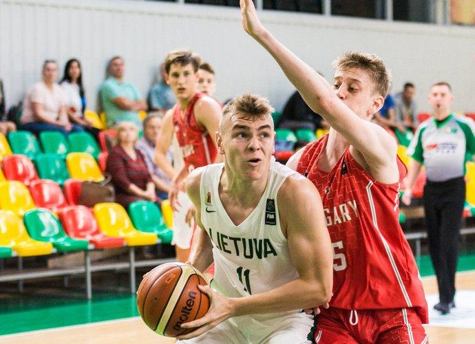 T.Baltrušaitis pelnė 16 taškų (Lino Žemgulio nuotr.)
