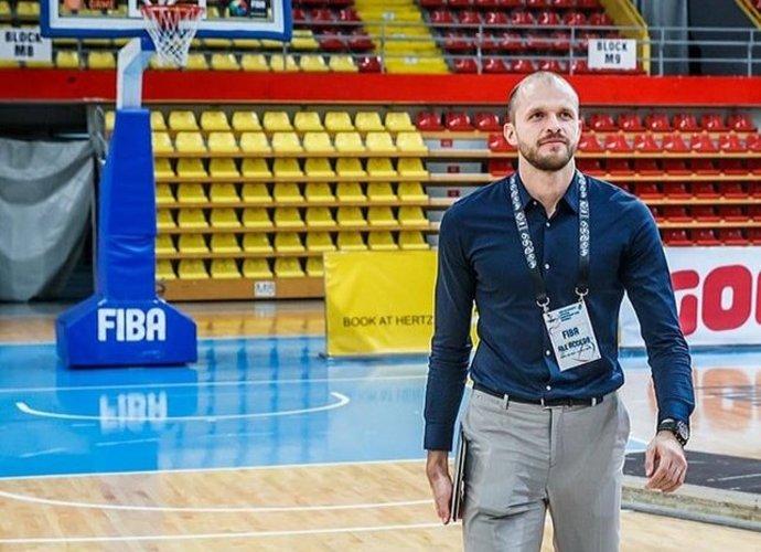"""G.Leonavičius jau beveik metus dirba """"FIBA Europe"""""""