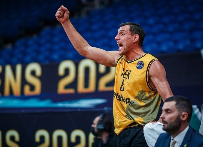 J.Mačiulis rungtyniavo net 35 minutes (FIBA Europe nuotr.)