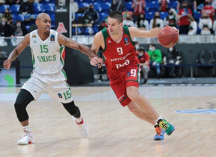 M.Kalnietis tempė komandą pirmyn ir surinko dvigubą dublį (Euroleague.net)