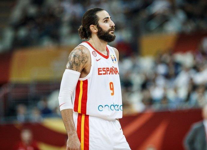 R.Rubio tapo rekordininku (FIBA nuotr.)