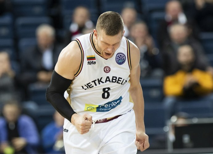 T.Lekūnas sužaidė geriausią mačą Panevėžio ekipoje (www.kavolelis.lt nuotr.)
