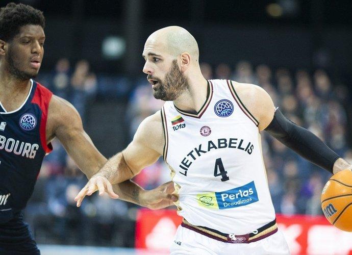 Panevėžiečiai pasiekė pergalę namie (FIBA Europe nuotr.)