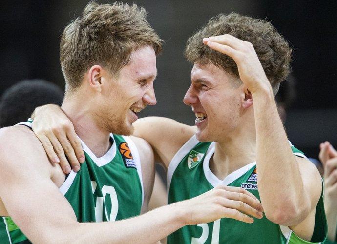 M.Grigonis ir R.Jokubaitis šiame sezone žengė didelį žingsnį į priekį (BNS nuotr.)