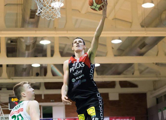 E.Tubutis buvo rezultatyviausias Vilniaus ekipoje (Dainius Lukšta, NKL)