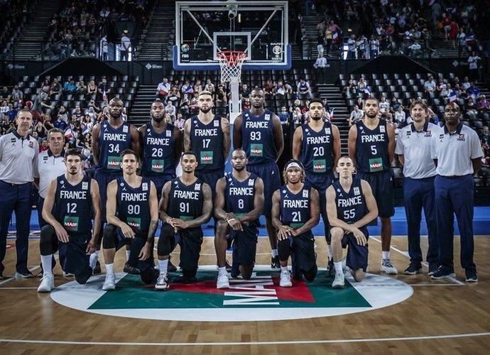 Prancūzijos rinktinė iškovojo dar vieną laimėjimą (FIBA Europe nuotr.)