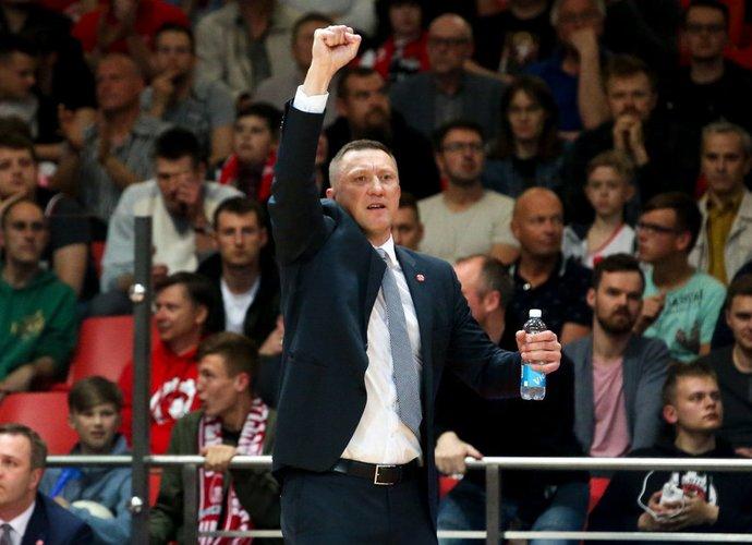 Ž.Urbonas gyrė savo žaidėjus (BNS nuotr.)