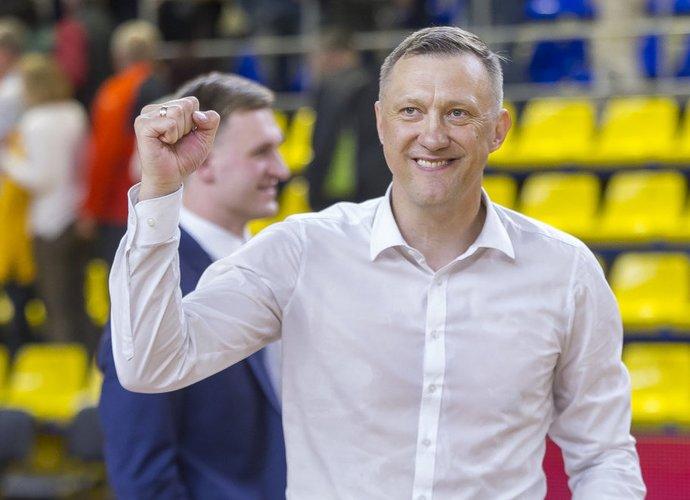 Ž.Urbonas liko vyr. trenerio poste (BNS nuotr.)