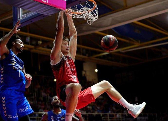 E.Mockevičius buvo naudingiausias savo komandos žaidėjas