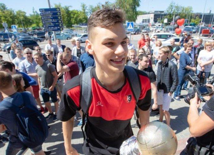 D.Sirvydis tapo jaunių turnyro MVP (Bc.lrytas.lt nuotr.)