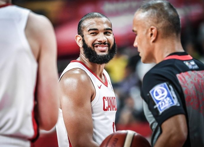 Kanada pagaliau džiaugėsi pergale  (FIBA nuotr.)