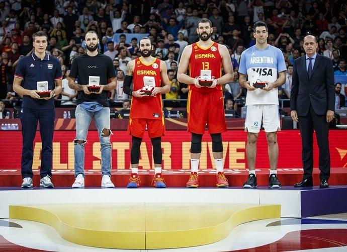 Taip atrodo simbolinis turnyro penketas (FIBA nuotr.)