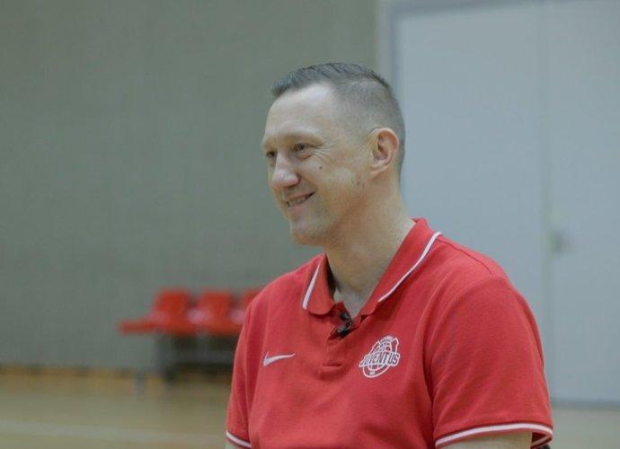 Ž.Urbonas kalbėjo apie 2,5 metų Utenos komandos vyr. trenerio poste