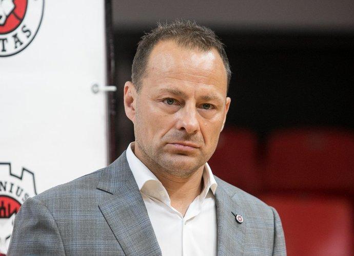 R.Jarutis nebedirba Vilniaus klube (BNS nuotr.)