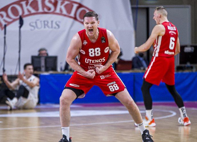 V.Šulskis svariai prisidėjo prie pergalės (BNS nuotr.)