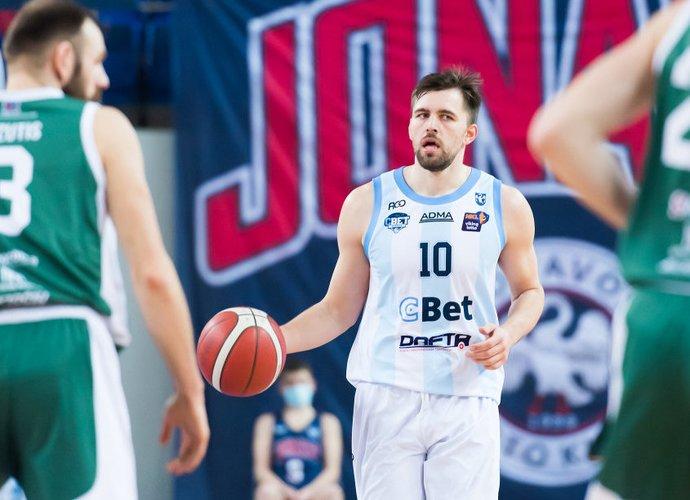 Jonavos klubas iškovojo tvirtą pergalę (Dainius Lukšta, NKL)