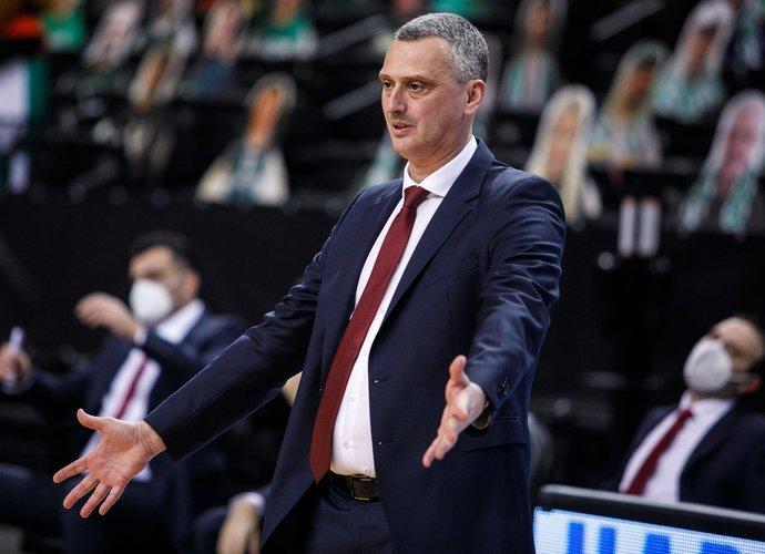 D.Radonjičius mano, kad žalgiriečiai sureaguos į trenerio pasikeitimą (BNS nuotr.)