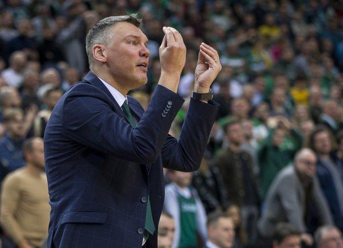 Š.Jasikevičius teigė, kad žaidėjai buvo pametę galvas (BNS nuotr.)