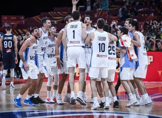 Argentina kausis dėl aukso (FIBA nuotr.)