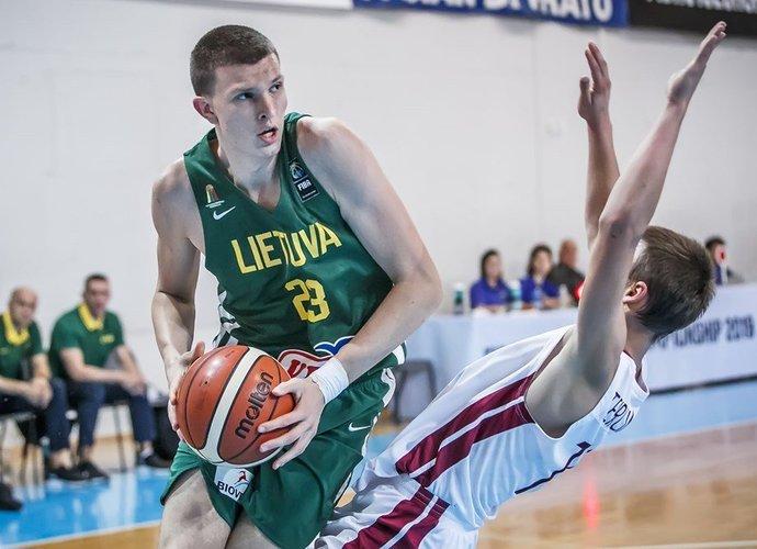 P.Murauskas pergalės neatnešė (FIBA Europe nuotr.)