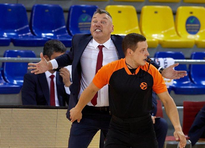 Š.Jasikevičius su komanda turėjo gerokai pavargti (Scanpix nuotr.)