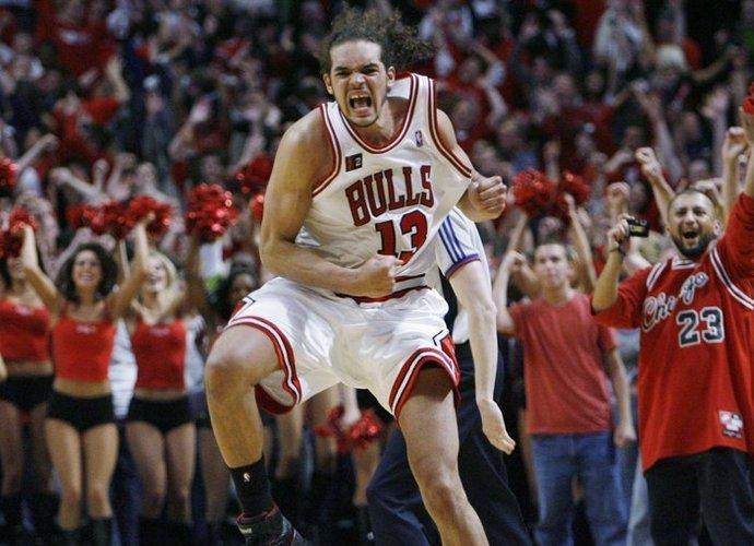 J.Noah koncentruosis tik į krepšinį (Scanpix nuotr.)