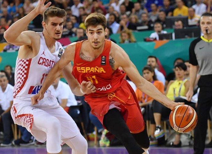 Juancho Hernangomezas padės Ispanijos rinktinei (Scanpix nuotr.)