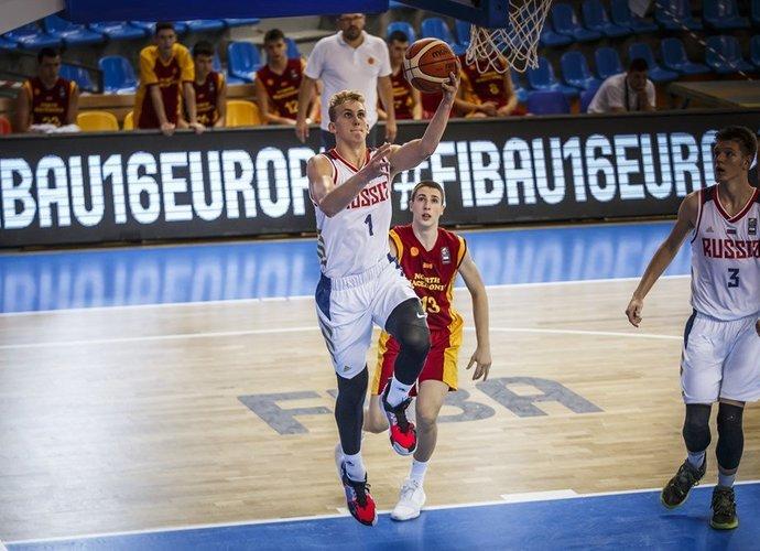 G.Rumša buvo rezultatyviausias rusų gretose (FIBA Europe nuotr.)
