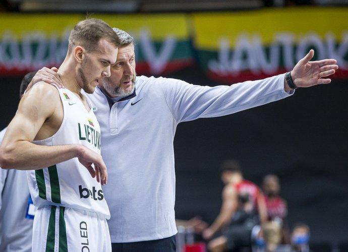 D.Maskoliūno auklėtiniai dėl vietos Europos čempionate dar turės pakovoti (BNS nuotr.)