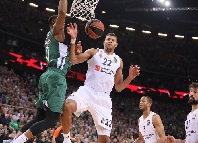 W.Tavaresas tapo geriausiai besiginančiu krepšininku (BNS nuotr.)