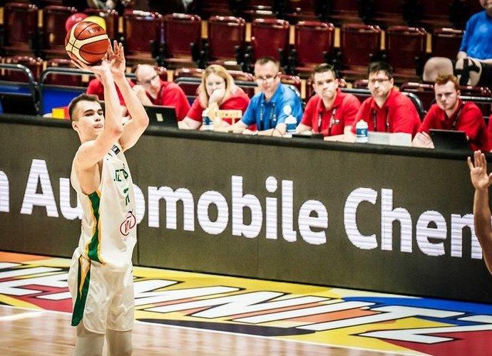 G.Masiulis vedė lietuvius į priekį (FIBA Europe nuotr.)