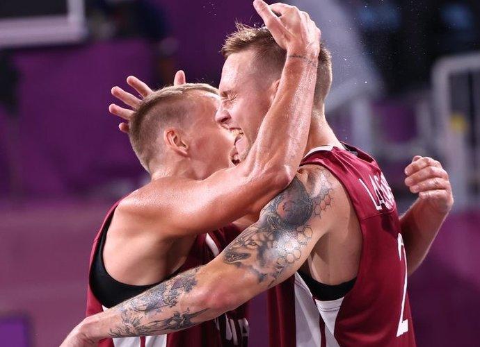 Latviai iškovojo aukso medalius (Scanpix nuotr.)