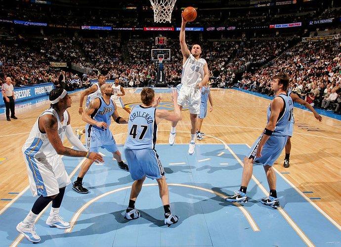 Savaitgali bus galimybė stebėti, kaip NBA žaidė L.Kleiza (Scanpix nuotr.)