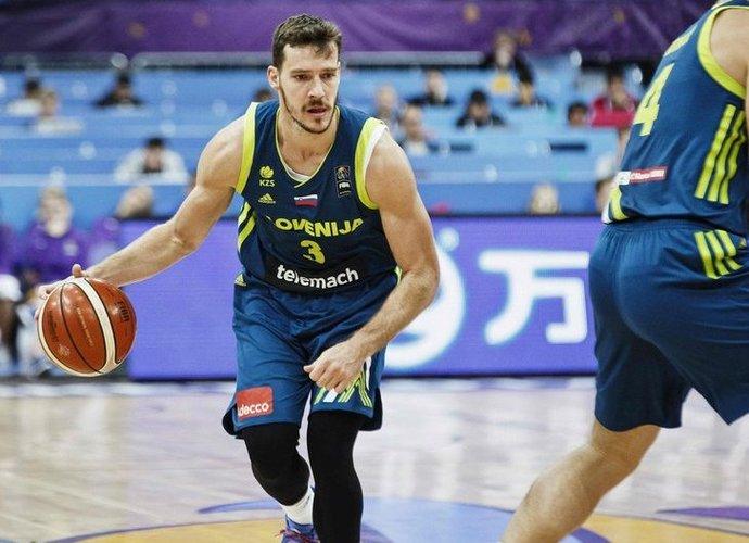 G.Dragičius vedė slovėnus į priekį (FIBA Europe nuotr.)
