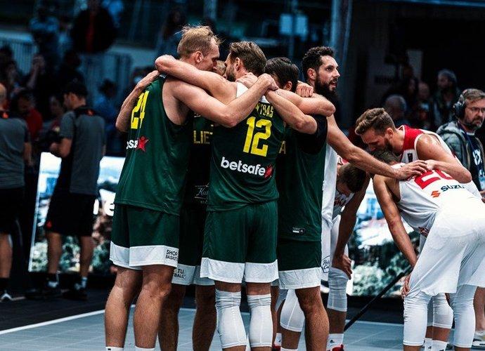 Lietuviai finišavo su sidabru (FIBA nuotr.)