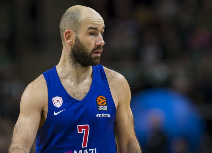 "V.Spanoulis lieka ""Olympiacos"" klube (BNS nuotr.)"