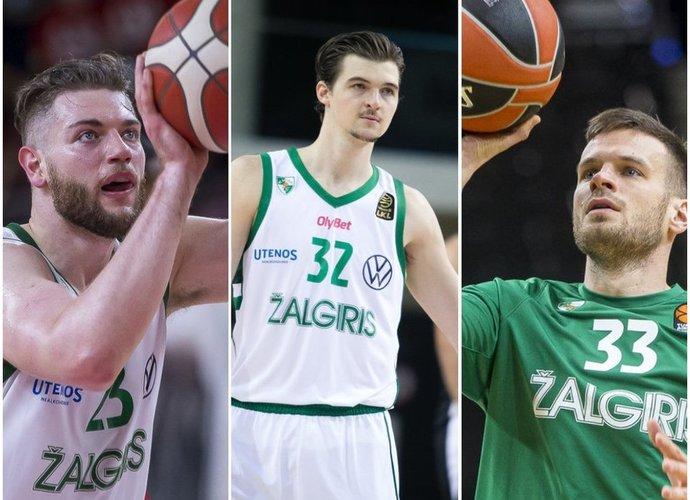 Kauniečiai atsisveikins su šiais trimis žaidėjais (BNS nuotr.)