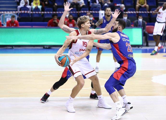 M.Kuzminskas buvo vienas ekipos puolimo lyderių (vtb-league.com nuotr.)