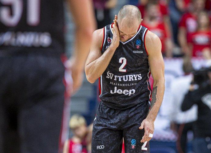 D.Bičkauskis buvo geriausias dėl kamuolių kovojęs žaidėjas (BNS nuotr.)