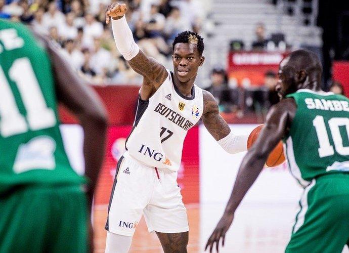 D.Schroderis žaidė fantastinį mačą (FIBA nuotr.)