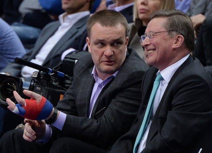 A.Vatutinas teisinosi, kodėl CSKA sulaukė mažai žiniasklaidos dėmesio (Scanpix nuotr.)