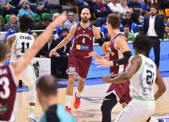 Ž.Šakičius užfiksavo dvigubą dublį (FIBA nuotr.)