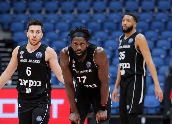 Jeruzalės ekipa prisidarė sau problemų (FIBA Europe nuotr.)