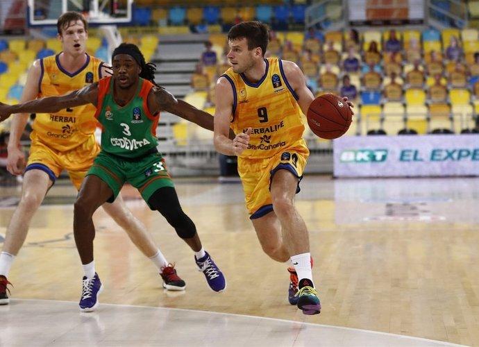 T.Dimša žaidė rezultyviausiai savo komandoje (Euroleague.net)