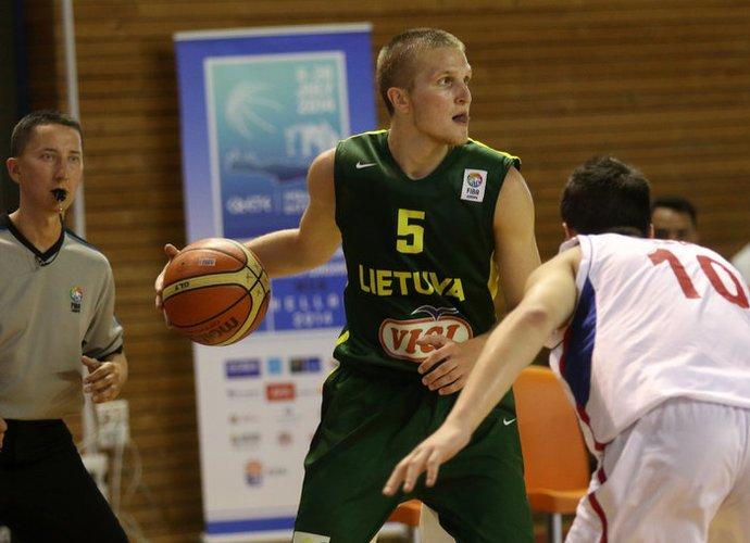 J.Tamulis pradeda legionieriaus karjerą (FIBA Europe nuotr.)