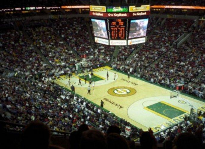 """Sietlo """"KeyArena"""" netrukus ir vėl gali turėti namų komandą NBA (Organizatorių nuotr.)"""