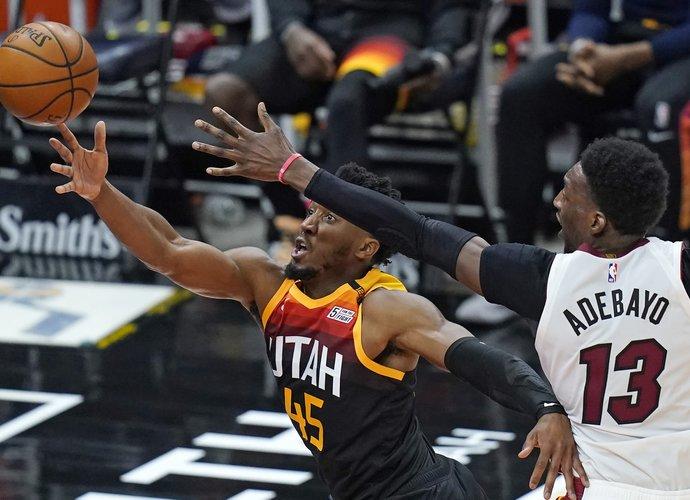 D.Mitchellas sulaukė NBA baudos (Scanpix nuotr.)